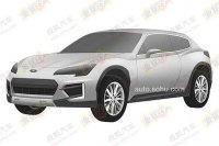 Subaru запатентовала дизайн своего будущего кроссовера