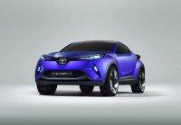 Внешность концепта Toyota C-HR рассекречена