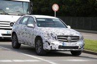 Mercedes GLK следующего поколения уже проходит тесты