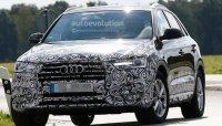 Audi Q3 готовится к обновлению