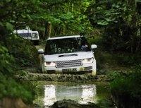 Настоящий британский внедорожник в родной среде. Land Rover Experience в английском заповеднике