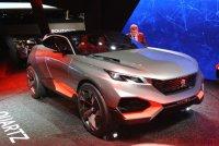 500-сильный кроссовер Peugeot Quartz представили в Париже