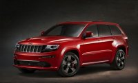 Jeep Представил в Париже Grand Cherokee SRT Red Vapor