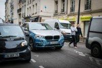 В Париже тестируют гибридный BMW X5