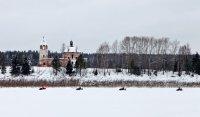 Пробег на снегоходах из Рыбинска в Великий Устюг