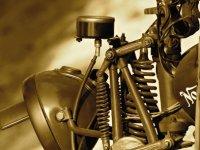 Пробег на экзотических армейских ретромотоциклах из коллекции Вячеслава Шеянова