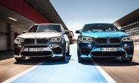 BMW представила М-версии своих внедорожников Х5 и Х6