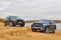 Тест-драйв Mercedes-Benz ML против BMW X5