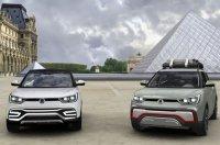 SsangYong X100 появится в России уже в следующем году