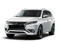 Обновленный Mitsubishi Outlander покажут в апреле