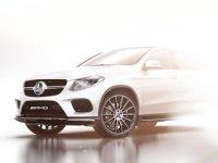 Mercedes представил официальный тизер конкурента BMW X6