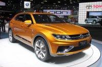 Volkswagen в Детройте представит новый концепт кроссовера