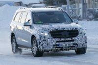 Mercedes GLS готовится к обновлению