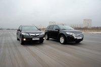 Тест-драйв Ford Edge против Acura RDX