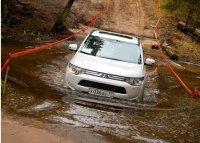Тест-драйв трехлитрового Mitsubishi Outlander