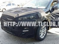 Шпионские фотографии нового поколения Hyundai ix35