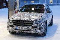 Шпионские фотографии нового Mercedes GLC