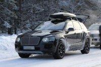 Во внешности Bentley Bentayga все меньше секретов
