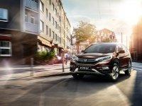 Подробности о новой Honda CR-V для России