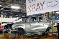 Фотография сваренного кузова Lada Xray