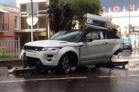 Видео сочинского «краш-теста» Range Rover Evoque