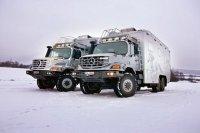 Охотничьи дома на колесах для монгольских миллионеров