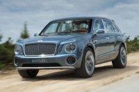 В России начали принимать заказы на Bentley Bentayga