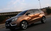 Предсерийный Lada Xray тестируют на дорогах Тольятти