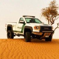 Дубайская полиция обзавелась пикапом GMC Sierra