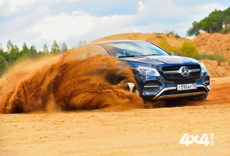 Mercedes-Benz GLE-купе