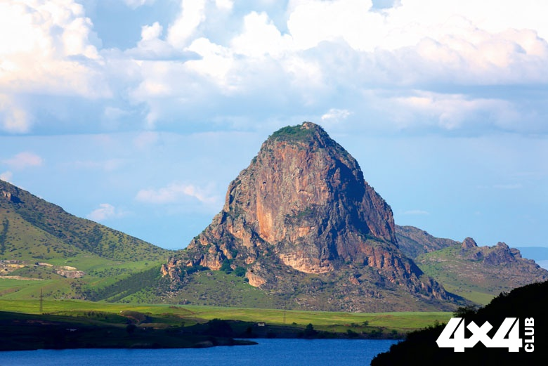 Гора Гейазан. Азербайджан. Вид со стороны Армении_5