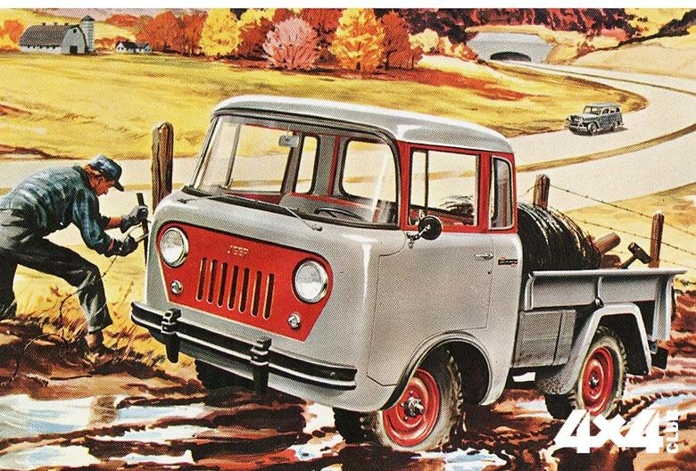 1957 Willys Jeep FC-150 Forward Control Truck2_17