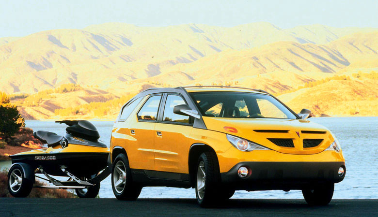 1999 Pontiac Aztek Concept Vehicle.